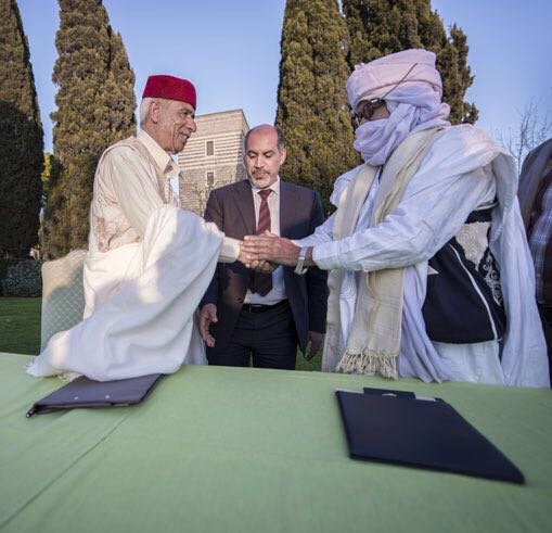 Awlad Suleiman and Tebu sign reconciliation agreement in Rome